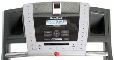 NordicTrack C2000 Treadmill console